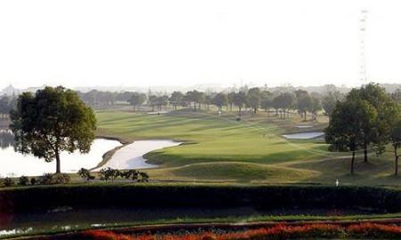 窥视上海新贵们的玩乐 上海高尔夫球场 图高清图片