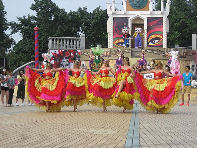2011长隆欢乐世界五一黄金周活动