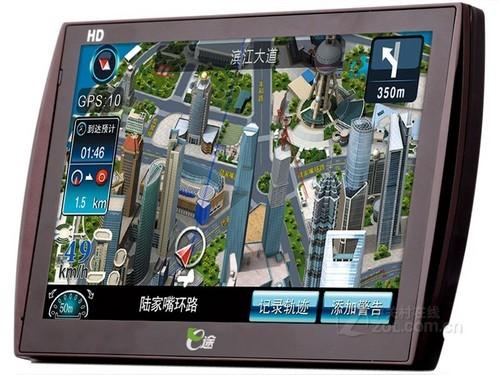 华锋e途d7车载gps导航仪 内置行车记录仪_汽车导航网