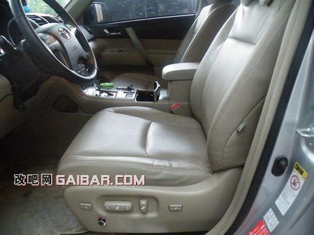丰田汉兰达改装空调座椅(4)